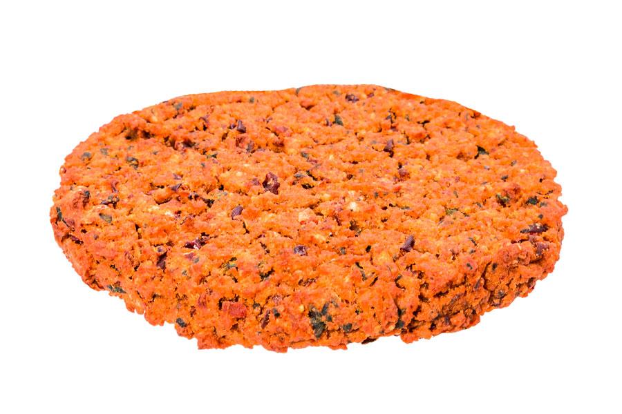 Red kidney bean patty