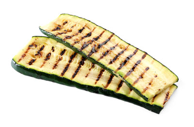 Oven baked zucchini